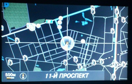 Диск навигации Mercedes-Benz Navigation DVD Version 5.0 для COMAND APS NTG4 2010 Россия