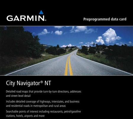 City Navigator India NT 2012.20 (карта Индии для Garmin)