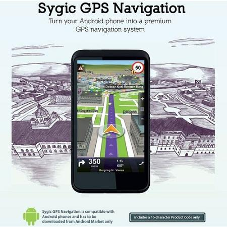 Sygic Navigation 12.2.1 (Android OS) + карты 2013.01