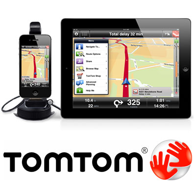 TomTom v1.13 навигация для iPhone и iPad (All Map Collection)