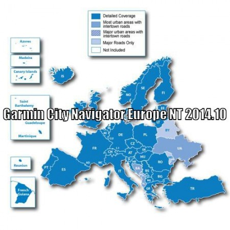 Garmin City Navigator Europe NT 2014.10 [IMG unlock]