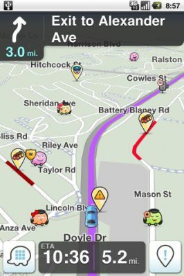 Waze Social GPS Maps & Traffic 3.7.2.0 (Android)