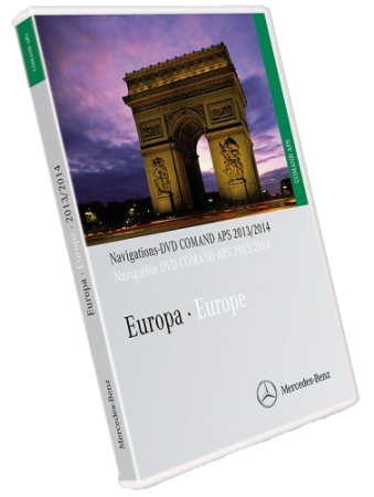Mercedes Benz Europe Navigations DVD Comand APS NTG1 V14 2013/2014