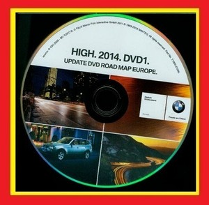 Навигация BMW + Opel Road Map Europe HIGH 2014 DVD SL